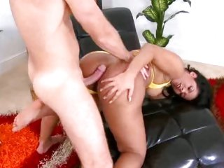 Adorable milf likes getting fucked from behind