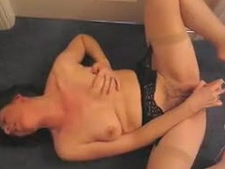Mature lady gets on the floor and widens her legs wide to feel the intense pleasure of a vibrator. The toy goes crazy on her cum-hole and she moans her way to an epic orgasm! Wicked loud masturbation is a must see!