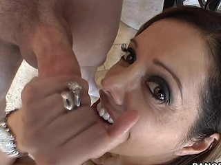 The evermore awesome Francesca Le comes by to aid us out with a film project that needs her assistance. Little does this babe know, we indeed need her for Blow Job Fridays. This Babe strips down into a strap and shows of that tasty body of hers and gets ready for what's to come. One Time we tell her what its for and that babe'll be getting paid. Francesca was down on her knees engulfing dick even in advance of I told, ' action '. Francesca impressed us! This honey knows how to engulf a ramrod. This hottie is no joke. Unfathomable face hole and all. Take notes ladies! This is how to engulf a schlong. Have A Fun!